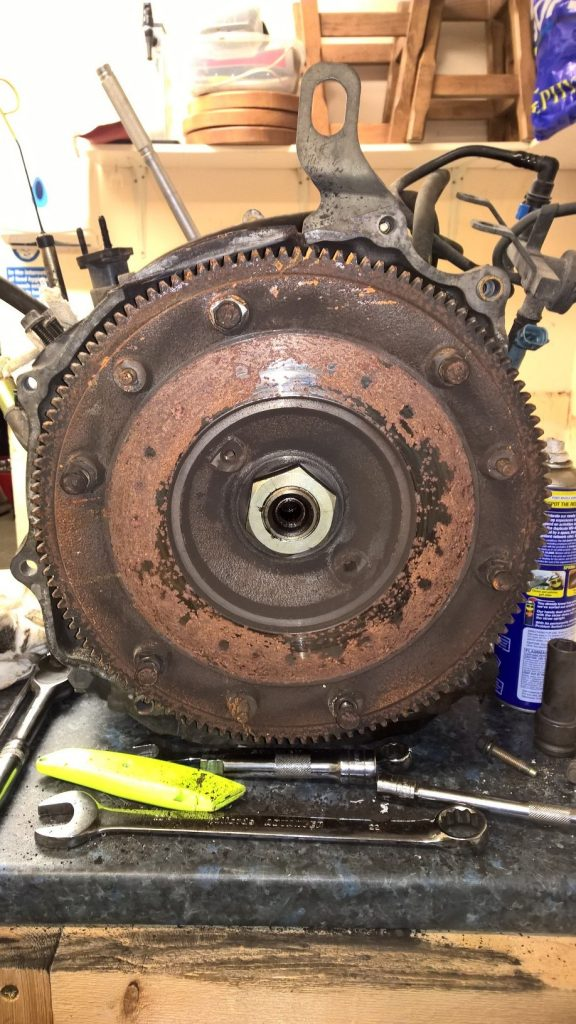 13B Flywheel