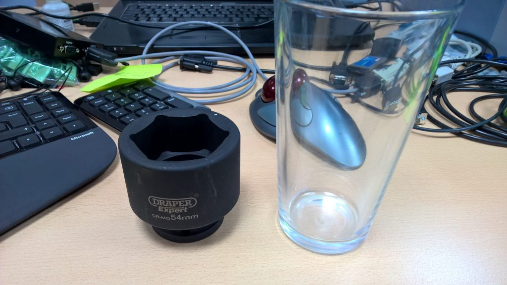 54mm Socket Vs Pint Glass