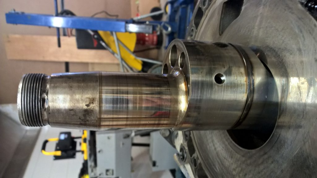 Damaged E-shaft