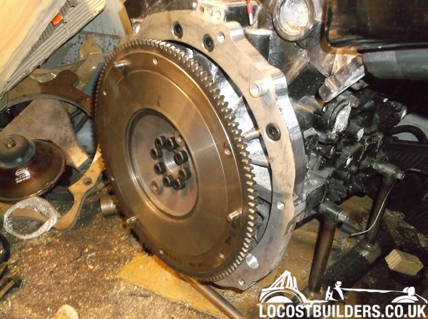 RX8 V6 Flywheel Mod