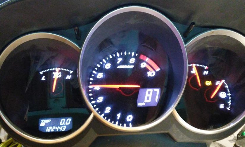 RX8 Cluster Working Canbus