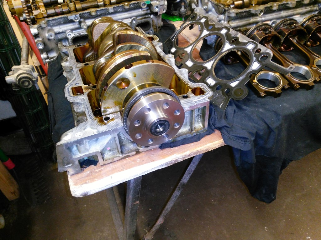 RX8 Project – Part 9, Flywheels Part 3 – Chamber of