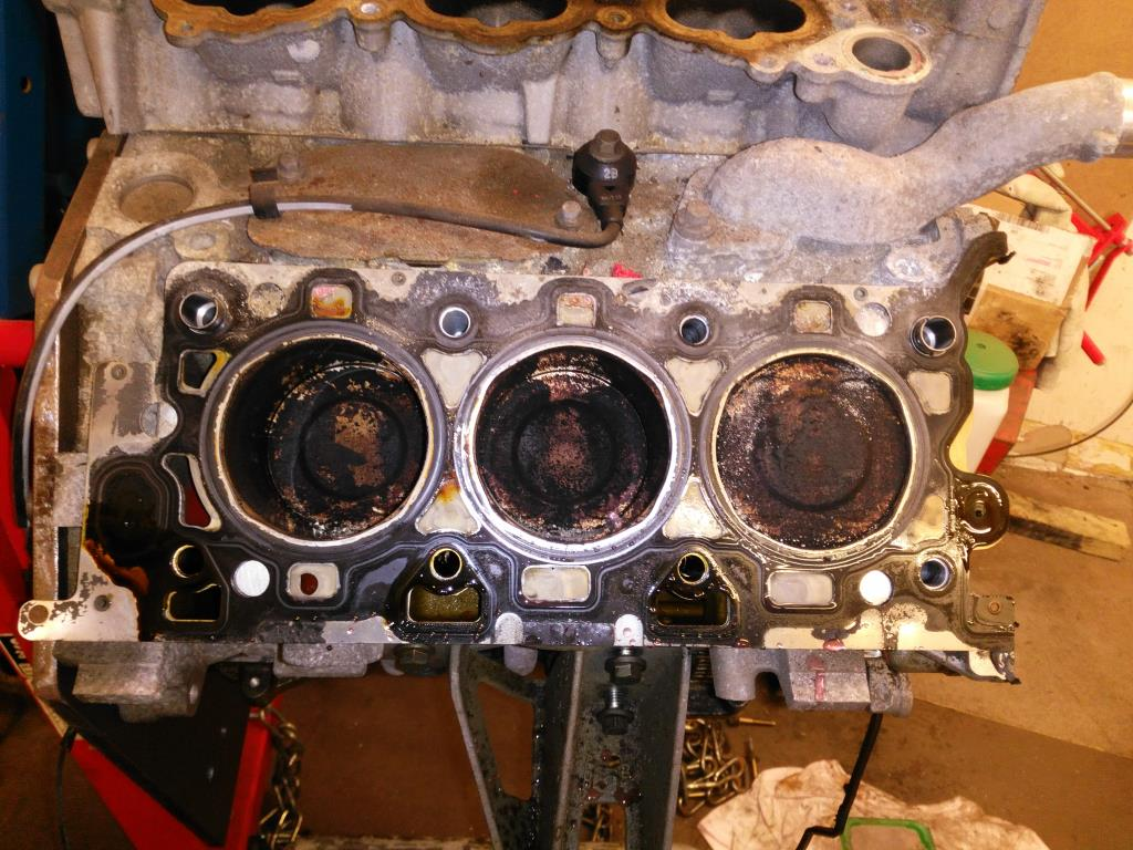 S-type V6 Head removed