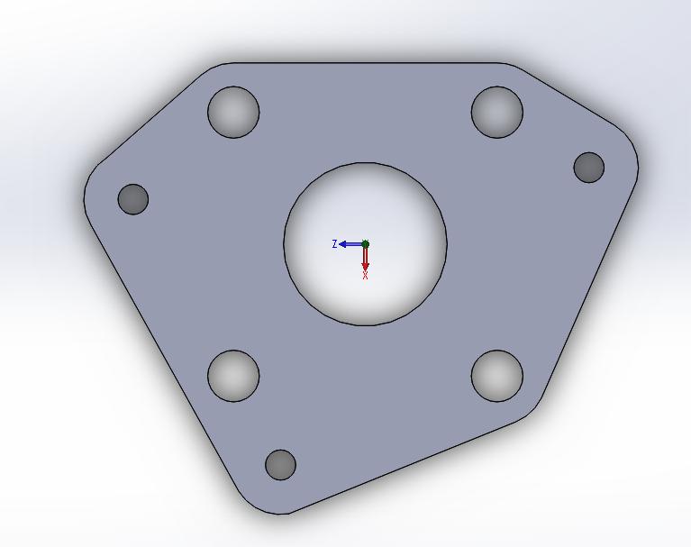 3D design of first adapter design